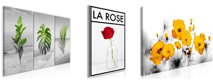 Taulujen Kuvat kukista, erilaiset modernit ja klassiset kukka Sisustustaulut, Canvas printtitaulut. Ilmainen toimitus ja maksa Klarna laskulla