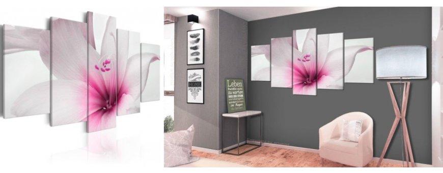 Sisustustaulujen yleiset taulut kukista, erilaiset modernit ja klassiset kukka Sisustustaulut, Canvas printtitaulut
