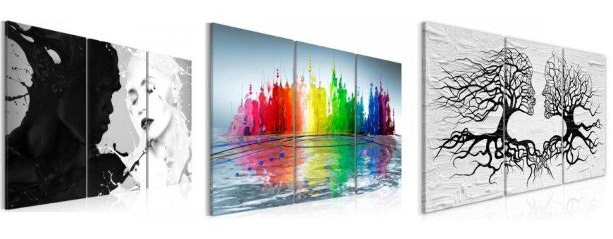 Abstraktit taulut, erilaiset ja klassiset abstraktit Sisustustaulut, Canvas printtitaulut. Ilmainen toimitus ja maksa Klarna laskulla.