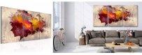 Abstraktit Värikkäät Sisustustaulut, erilaiset ja klassiset abstraktit Sisustustaulut, Canvas printtitaulut