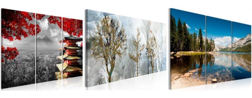 Maisema ja Horisontti taulut, erilaiset ja klassiset maisema Sisustustaulut, Canvas printtitaulut. Ilmainen toimitus.