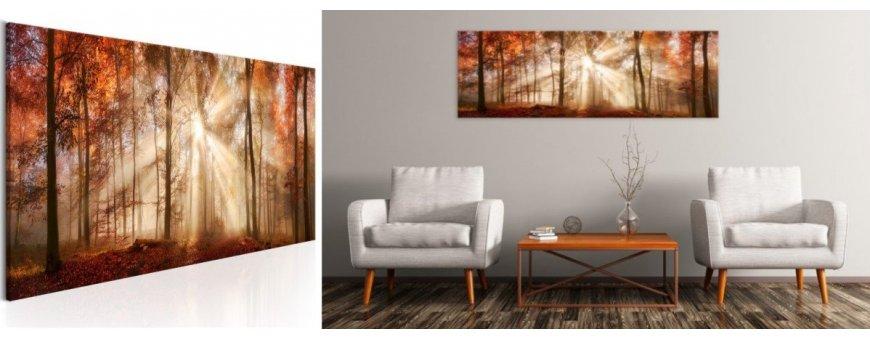 Metsä aiheiset sisustustaulut, erilaiset ja klassiset metsä maisema Sisustustaulut - Canvas printtitaulut
