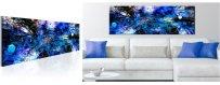 Abstraktit Muodot sisustustauluissa, erilaiset ja klassiset abstraktit Sisustustaulu muodot, Canvas printtitaulut