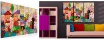 Arkkitehtuuri aiheiset sisustustaulut, erilaiset ja klassiset arkkitehtuuri Sisustustaulut - Canvas printtitaulut