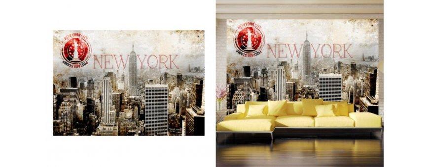 New York Fototapetit saat Sisustutaulut.net kaupastamme nopealla ja ilmaisella toimituksella.
