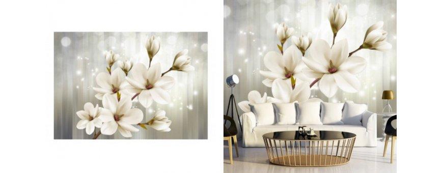 Magnolia kukka Fototapetit saat Sisustutaulut.net kaupastamme nopealla toimituksella. Tutustu Kukka taustaseinä aiheisiin eri harrastuksista ja tilaa nyt! Ilmainen toimitus.