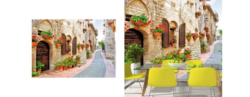 Välimeren maisema Fototapetit saat Sisustutaulut.net kaupastamme nopealla toimituksella. Tutustu eri maisemiin ja tilaa nyt! Ilmainen toimitus.