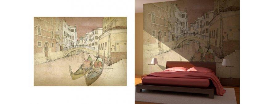 Venetsia Fototapetit saat Sisustutaulut.net kaupastamme nopealla toimituksella. Tutustu huokausten siltaan, kanaaleihin ja tilaa nyt! Ilmainen toimitus.