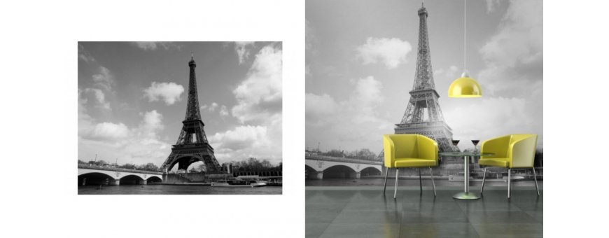 Pariisi Fototapetit saat Sisustutaulut.net kaupastamme nopealla toimituksella. Tutustu Eiffeliin, kanaaleihin ja tilaa nyt! Ilmainen toimitus.