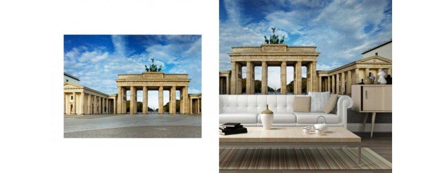 Berliini Fototapetit saat Sisustutaulut.net kaupastamme nopealla toimituksella. Tutustu kaupunkiin, kanaaleihin ja tilaa nyt! Ilmainen toimitus.