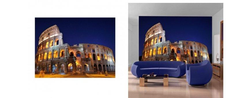 Rooma Fototapetit saat Sisustutaulut.net kaupastamme nopealla toimituksella. Tutustu kaupunkiin, kanaaleihin ja tilaa nyt! Ilmainen toimitus.