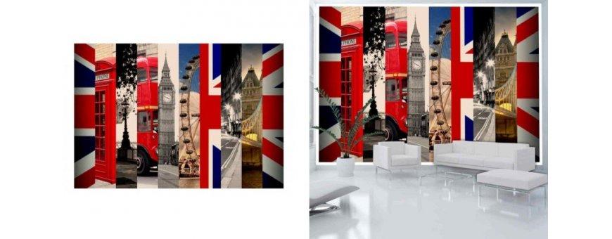 Lontoo Fototapetit saat Sisustutaulut.net kaupastamme nopealla toimituksella. Tutustu kaupunkiin, katuihin ja tilaa nyt! Ilmainen toimitus.