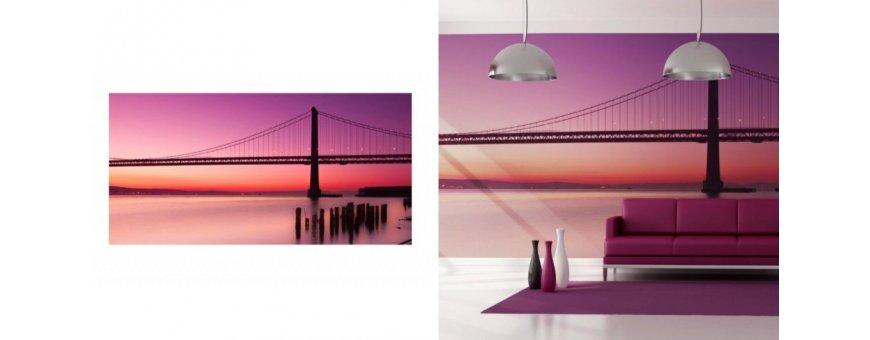 XXL kokoiset San Francisco kaupunki Fototapetit saat Sisustutaulut.net kaupastamme ilman kuljetusveloitusta. Tutustu ja tilaa nyt!