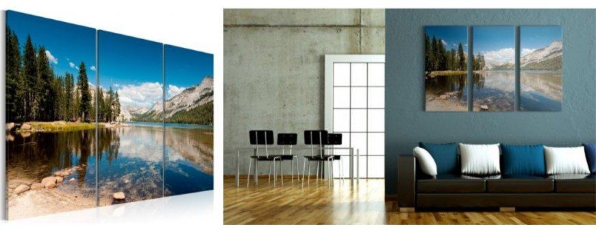 Vuori aiheiset sisustustaulut, erilaiset ja romanttiset Vuori Sisustustaulut - Canvas printtitaulut
