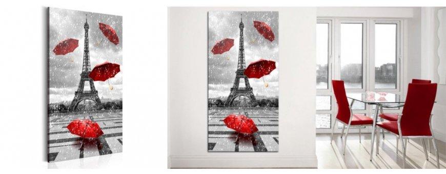 Sisustustaulut Pariisista, erilaiset modernit Paris Sisustustaulut, Canvas printtitaulut. Ilmainen toimitus ja maksa Klarna laskulla