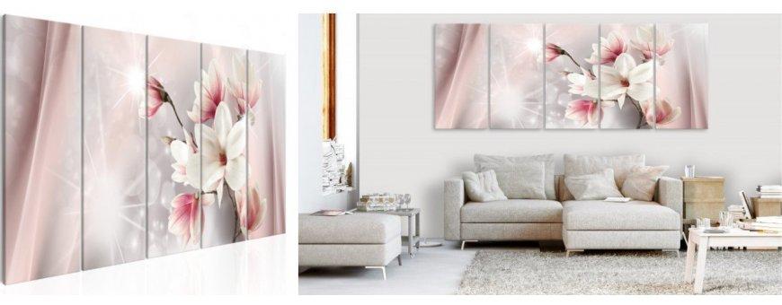Sisustustaulut Magnolia Kukista, erilaiset modernit ja klassiset Magnolia kukka Sisustustaulut, Canvas printtitaulut