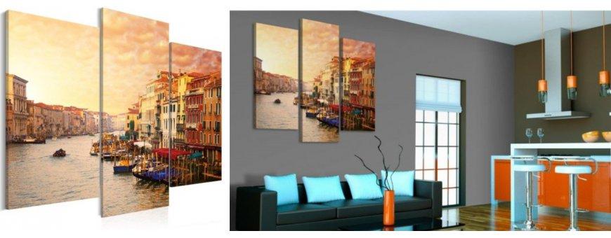 Sisustustaulut Venetsiasta, erilaiset klassiset Venice Sisustustaulut, Canvas printtitaulut. Ilmainen toimitus ja maksa Klarna laskulla