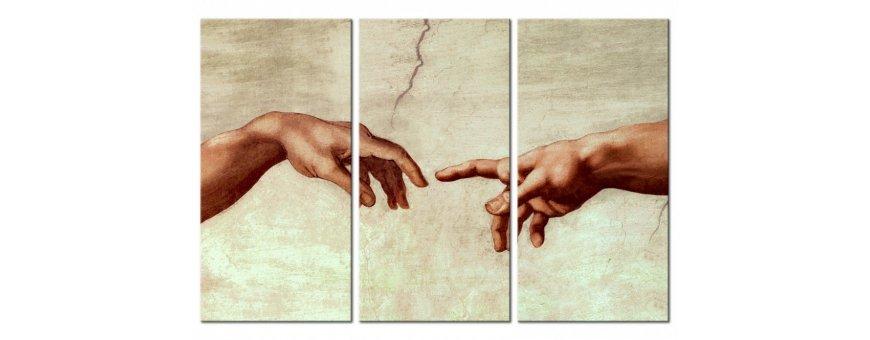 Kuvia koskettavista aiheista, Sisustustaulut, Canvas printtitaulut