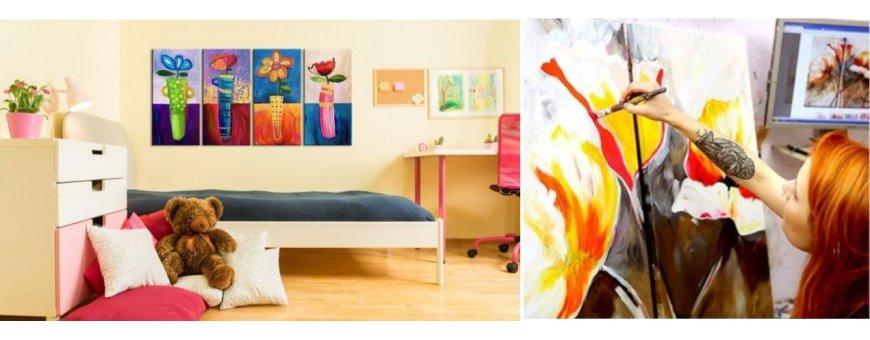 Tutustu Kukka taulu maalausten mallistoon ja tilaa omasi, toimitus veloituksetta! Saat maalauksesi tehtynä parhaalle italialaiselle kankaalle.
