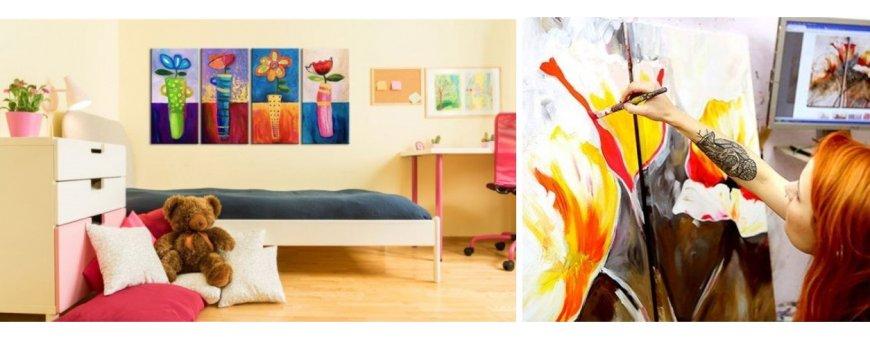Tutustu muihin Kukka taulu ölyvärimaalausten mallistoon ja tilaa omasi, toimitus veloituksetta!