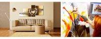 Tutustu Kuviomerkkien öljyvärimaaalausten Abstraktiin mallistoon ja tilaa omasi, toimitus veloituksetta!