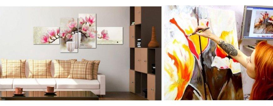 Tutustu Magnolia Kukka taulu ölyvärimaalausten mallistoon ja tilaa omasi, toimitus veloituksetta!