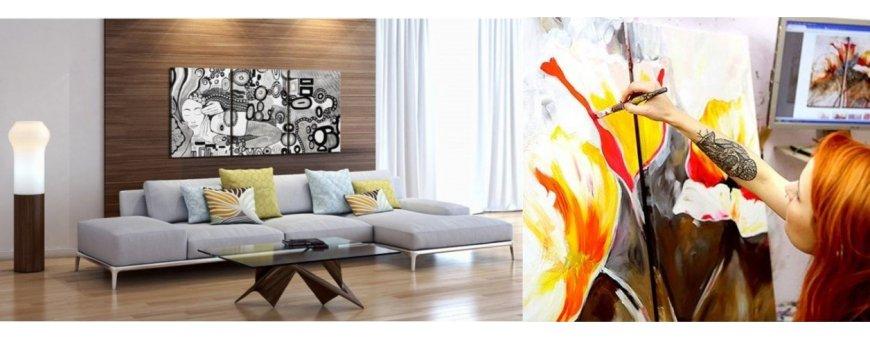 Tutustu öljyvärimaaalausten rakkaus Abstraktiin mallistoon ja tilaa omasi, toimitus veloituksetta!