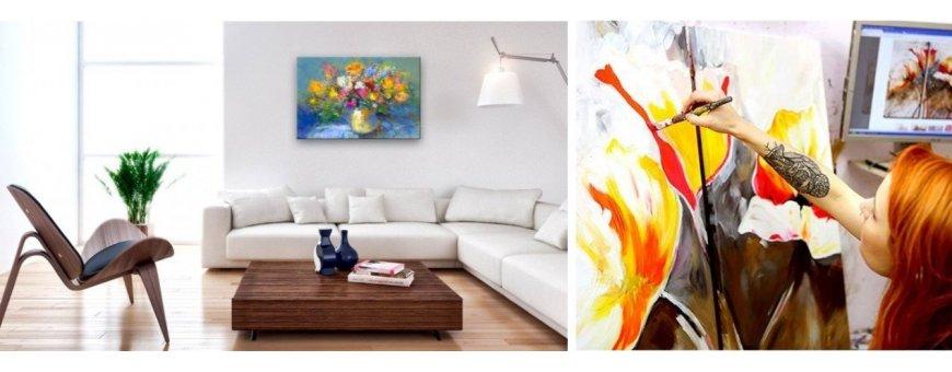 Tutustu Kukkakimppu taulu ölyvärimaalausten mallistoon ja tilaa omasi, toimitus veloituksetta!